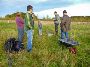 Discussing meadow creation and the benefits of GPS